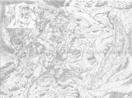 Green lantern Corps sample by robsonrocha