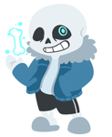 //UnderTale//Sans//PageDoll//Animated// by EmberCL