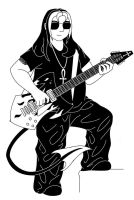 Zakks guitar by Arlandria83
