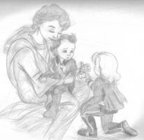 Baby Loki and Toddler Thor by LittleMissZero