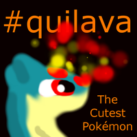 Quilava In GIMP by BudCharles