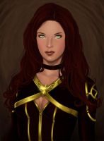 Jean Grey by icyheart