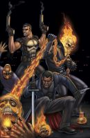 Marvel Knights by DAVID-OCAMPO