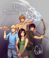 The Hunger Games by Arlequinne