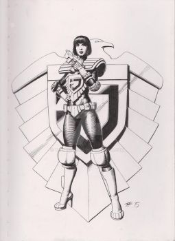 Chief Judge Hershey Commission by TomRFoster