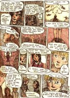 The Hunger Games comic: Katniss and Peeta by pebbled