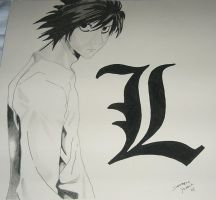 Death note L by baghora0