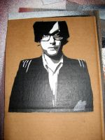 Jarvis Cocker - Stencil by moon-glaze