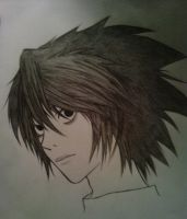 Lawliet the second by Letizi