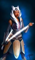 Rebels Ahsoka Tano by atdoodle