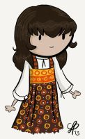Sarah Jane Smith by gnasler