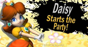 Daisy for SSB4 by Elemental-Aura