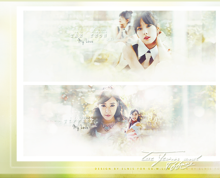 Taeyeon and Tiffany by smallElnis