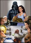 Star Wars  Norman Rockwell by HeroforPain