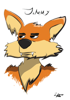 Jimmy the Fox #2 by zigtoons