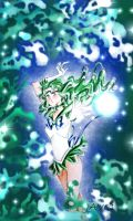 Sailor Neptune - neptune tsunami by zelldinchit