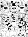 The Five Nights at Freddy's Crew by MarioBoss365