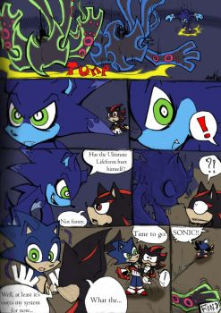 Coloured!Sonic PSG Style sketch comic pg 5 by Auroblaze