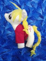 Edward Elric My Little Pony by snowtigra