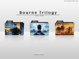 Movie Folder Bourne Trilogy by MrFolder