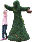 dancing forest creature fantasy stock png by Nexu4