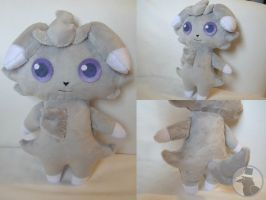Espurr plush - Trade by TheRuffledRaven