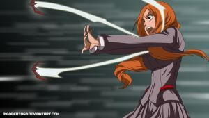Orihime Attacks by Rigoberto60