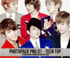 +Photopack PNG/Renders - Teen Top by MissJanePattinson