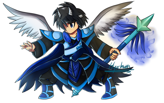 Xenon Brave Frontier Style - Gift for XenonB by Hyrchurn