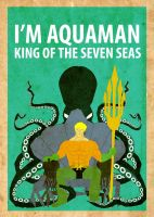 Aquaman Poster by Procastinating