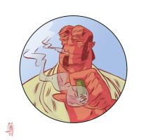 Hellboy by Andrew-Ross-MacLean