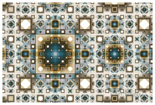 White Square Pattern by roup14