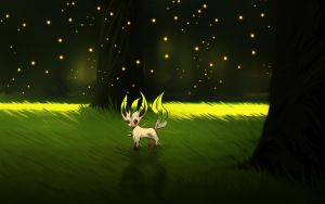 Leafeon by andrework