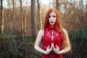 Lady Red III by NataliaLeFay