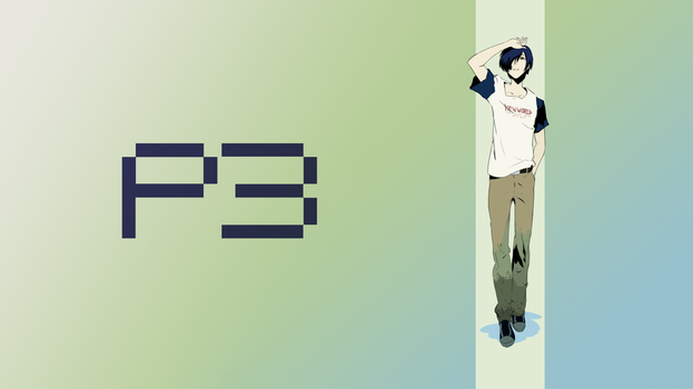 Persona 3 wallpaper by Mesopelagic