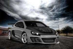 vw scirocco grey full brush by EDLdesign