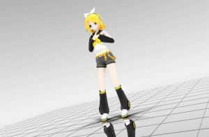 [MMD] Appearance Rin by Angel-Melody35