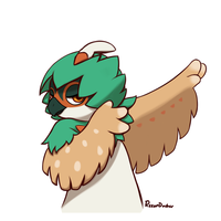Cool Decidueye by Roxandasher
