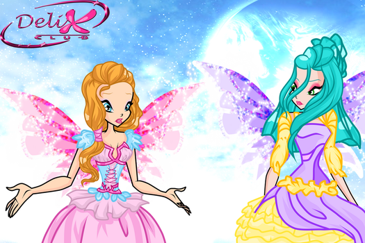 HERE WE GO PRINCESSES by caboulla