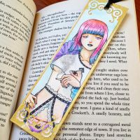 Bookmark: Tragedy by Speckled-Egg