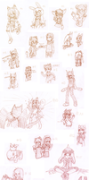 Sketch Requests by Amalika