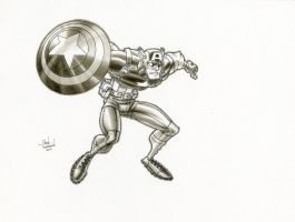 Captain America by ChadTHX1138