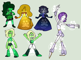Gemsona adoptable batch 1 | !!0/6 CLOSED!! by xXKingArtemisXx