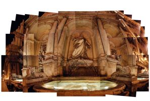 collage: roman fountain by i-shadow
