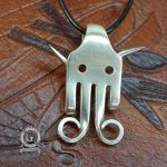 Silver Devil Fork Pendant by Doctor-Gus