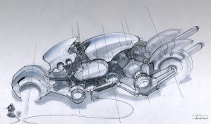 Motorcycle concept by zakforeman