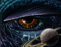 Eye of Horus by Aerin-Kayne