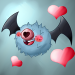 Woobat, Flying Type Contest by Syico