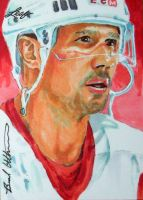 Steve Yzerman Leaf Best of Hockey sketch card by therealbradu
