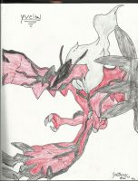 Yveltal by Zer0Arts